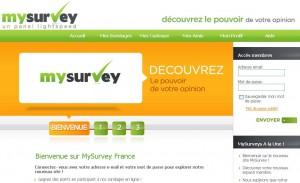 Accueil MySurvey